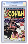 Modern Age (1980-Present):Miscellaneous, Conan the Barbarian #110 (Marvel, 1980) CGC NM/MT 9.8 Off-white to white pages....