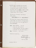 Memorabilia:Movie-Related, Sheldon Moldoff Virgil the Vampire Animation Screenplay(1969)....