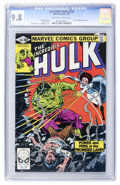 Modern Age (1980-Present):Superhero, The Incredible Hulk #256 (Marvel, 1981) CGC NM/MT 9.8 Off-white towhite pages....