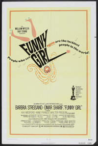 "Funny Girl (Columbia, R-1972). One Sheet (27"" X 41""). Musical"