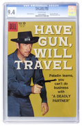 Silver Age (1956-1969):Western, Four Color #983 Have Gun, Will Travel (Dell, 1959) CGC NM 9.4Off-white pages....