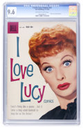 Silver Age (1956-1969):Humor, I Love Lucy #21 (Dell, 1958) CGC NM+ 9.6 Off-white to white pages....