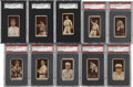 Baseball Cards:Lots, 1912 T207 Brown Background Collection (25) Including ScarceSubjects and HoFers....