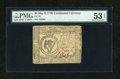 Colonial Notes:Continental Congress Issues, Continental Currency May 9, 1776 $8 PMG About Uncirculated 53EPQ....
