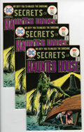 Bronze Age (1970-1979):Horror, Secrets of Haunted House #1 Multiple Copies Group (DC, 1975)Condition: Average VF/NM.... (Total: 3 Comic Books)