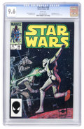 Modern Age (1980-Present):Science Fiction, Star Wars #98 (Marvel, 1985) CGC NM+ 9.6 White pages....