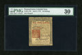 Colonial Notes:Pennsylvania, Pennsylvania April 3, 1772 40s PMG Very Fine 30....