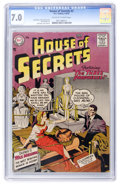Silver Age (1956-1969):Mystery, House of Secrets #3 (DC, 1957) CGC FN/VF 7.0 Off-white to whitepages....