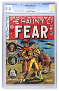 Golden Age (1938-1955):Horror, Haunt of Fear #10 (EC, 1951) CGC VF/NM 9.0 Off-white to whitepages....