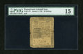 Colonial Notes:Pennsylvania, Pennsylvania January 1, 1756 20s PMG Choice Fine 15....
