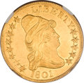 Early Eagles, 1801 $10 MS62 NGC....