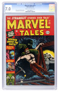 Golden Age (1938-1955):Horror, Marvel Tales #111 (Atlas, 1953) CGC FN/VF 7.0 Cream to off-whitepages....
