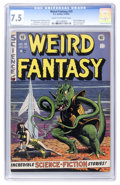 Golden Age (1938-1955):Science Fiction, Weird Fantasy #15 (EC, 1952) CGC VF- 7.5 Cream to off-whitepages....