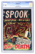 Golden Age (1938-1955):Horror, Spook #29 (Star Publications, 1954) CGC FN/VF 7.0 Off-whitepages....