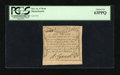 Colonial Notes:Massachusetts, Massachusetts October 16, 1778 6d PCGS Choice New 63PPQ....
