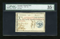 Colonial Notes:Georgia, Georgia 1776 $4 Blue Seal PMG Choice Very Fine 35 EPQ....