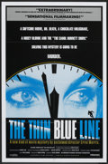 "Movie Posters:Documentary, The Thin Blue Line (Miramax, 1988). One Sheet (27"" X 41""). Documentary.. ..."