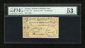 Colonial Notes:South Carolina, South Carolina April 10, 1778 20s PMG About Uncirculated 53....