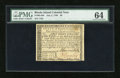 Colonial Notes:Rhode Island, Rhode Island July 2, 1780 $8 PMG Choice Uncirculated 64....