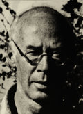 Photography :20th Century , MAN RAY (American, 1890-1976). Henry Miller, 1945. Gelatin silver, printed later. 7 x 5 inches (17.8 x 12.7 cm). Verso: ...
