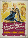 """Movie Posters:Comedy, Born Yesterday (Columbia, 1951). French Grande (47"""" X 63""""). Comedy.. ..."""