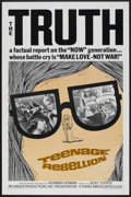 "Movie Posters:Documentary, Teenage Rebellion (Trans American, 1967). One Sheet (27"" X 41""). Documentary.. ..."