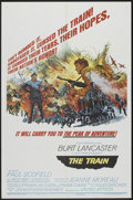 "Movie Posters:War, The Train (United Artists, 1965). One Sheet (27"" X 41"") Style B.War.. ..."