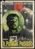 """Movie Posters:Science Fiction, Forbidden Planet (MGM, R-1964). Italian 4 - Folio (55"""" X 78"""").Science Fiction.. ..."""