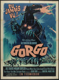 "Movie Posters:Science Fiction, Gorgo (MGM, 1961). French Grande (47"" X 63""). Science Fiction.. ..."