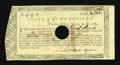 Colonial Notes:Connecticut, Connecticut Treasury-Office £9, 9 Shillings June 1, 1782 ExtremelyFine....
