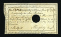 Colonial Notes:Connecticut, Connecticut Comptroller's-Office £13, 14 Shillings April 17, 1792Very Fine-Extremely Fine....