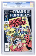 Modern Age (1980-Present):Science Fiction, Transformers #15 (Marvel, 1986) CGC NM/MT 9.8 White pages....