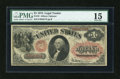Large Size:Legal Tender Notes, Fr. 19 $1 1874 Legal Tender PMG Choice Fine 15....
