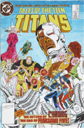 Original Comic Art:Miscellaneous, Tales of the Teen Titans #58 Cover Color Guide and Color KeyProduction Art, Group of 2 (DC, 1985).... (Total: 3 Items)