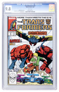 Modern Age (1980-Present):Science Fiction, Transformers #37 (Marvel, 1988) CGC NM/MT 9.8 White pages....