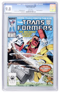 Modern Age (1980-Present):Science Fiction, Transformers #28 (Marvel, 1987) CGC NM/MT 9.8 White pages....