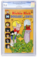 Bronze Age (1970-1979):Cartoon Character, Richie Rich Dollars and Cents #54 File Copy (Harvey, 1973) CGC NM+9.6 White pages....