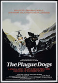 "Movie Posters:Animated, The Plague Dogs (United Artists, 1982). British Poster (28"" X 40"").Animated.. ..."