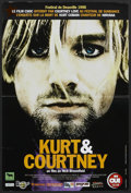 "Movie Posters:Rock and Roll, Kurt and Courtney (Pretty Pictures, 1998). French Petite (15.75"" X23.5""). Rock and Roll Documentary.. ..."