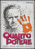 "Movie Posters:Drama, Citizen Kane (Titanus, R-1966). Italian 2 - Folio (39"" X 55""). Drama.. ..."