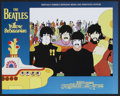 "Movie Posters:Animated, Yellow Submarine (United Artists, R-1999). Lobby Card Set of 8 (11""X 14""). Animated.. ... (Total: 8 Items)"