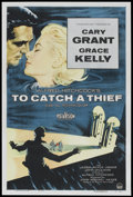 """Movie Posters:Hitchcock, To Catch a Thief (Paramount, 1955). One Sheet (27"""" X 41"""").Hitchcock.. ..."""