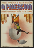 """Movie Posters:Fantasy, Tom Thumb (MGM, 1963). Czech Poster (11"""" X 16""""). Fantasy.. ..."""