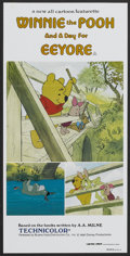 "Movie Posters:Animated, Winnie the Pooh and a Day For Eeyore (Buena Vista, 1983). Australian Daybill (13.25"" X 26.75""). Animated.. ..."