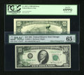 Error Notes:Error Group Lots, Fr. 2025-G $10 1981 Federal Reserve Note. PMG Gem Uncirculated 65EPQ. Fr. 2027-A $10 1985 Federal Reserve Note. PCGS Gem New ...(Total: 2 notes)