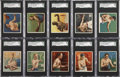 """Boxing Cards:General, 1910 T218 Hassan """"Series of Champion Athletes & Prize Fighters""""Complete Boxers Set (62). ..."""