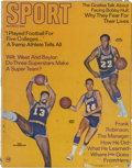 Basketball Collectibles:Publications, 1969 Issue Of Sport Magazine Featuring Wilt Chamberlain....