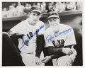 "Autographs:Photos, Ted Williams And Joe DiMaggio Dual Signed 8"" x 10"" Photograph. ..."