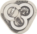 Explorers:Space Exploration, Skylab III (SL-4) Flown Silver Robbins Medallion Directly from thePersonal Collection of Astronaut John Young, Serial Number ...