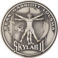 Explorers:Space Exploration, Skylab II (SL-3) Flown Silver Robbins Medallion Directly from the Personal Collection of Astronaut John Young, Serial Number 0...